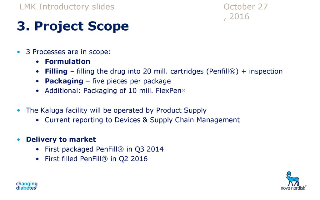 3. Project Scope