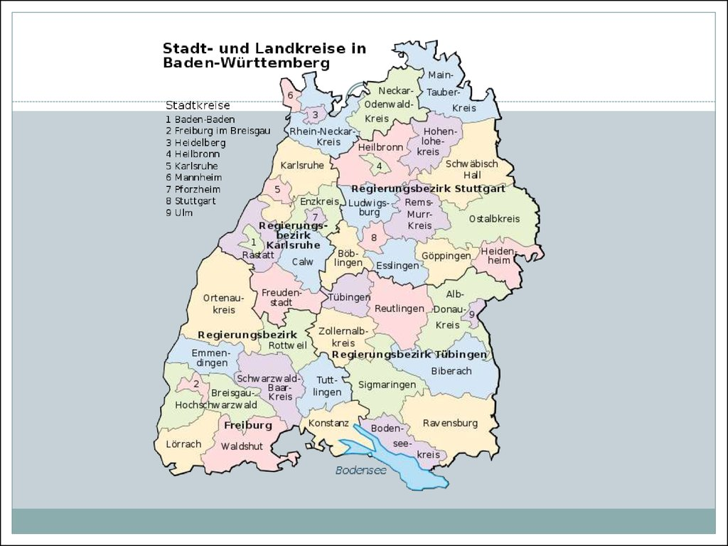 Baden Wurttemberg Das Dritte Bundesland Deutschland Online