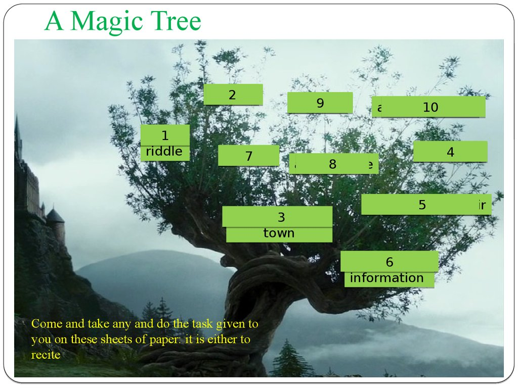 A Magic Tree