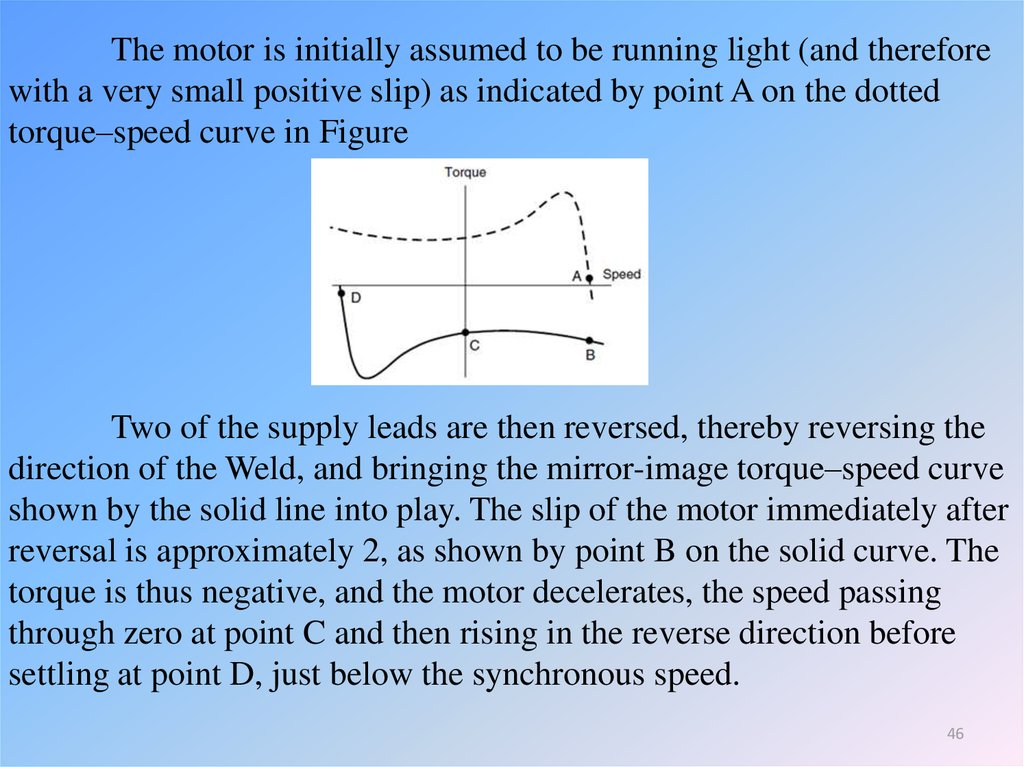 Influence of supply voltage on torque–speed curve - презентация онлайн