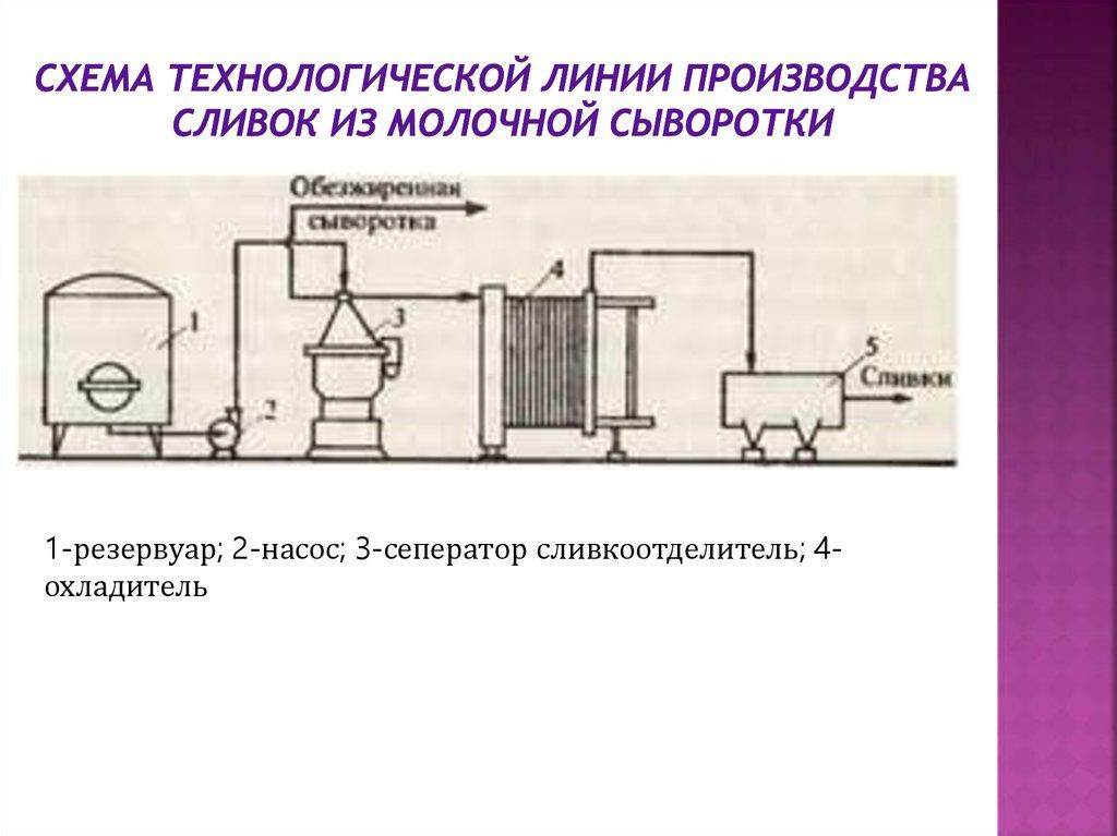 курсовая работа разработка проекта технических условий по производству сухой молочной сыворотки