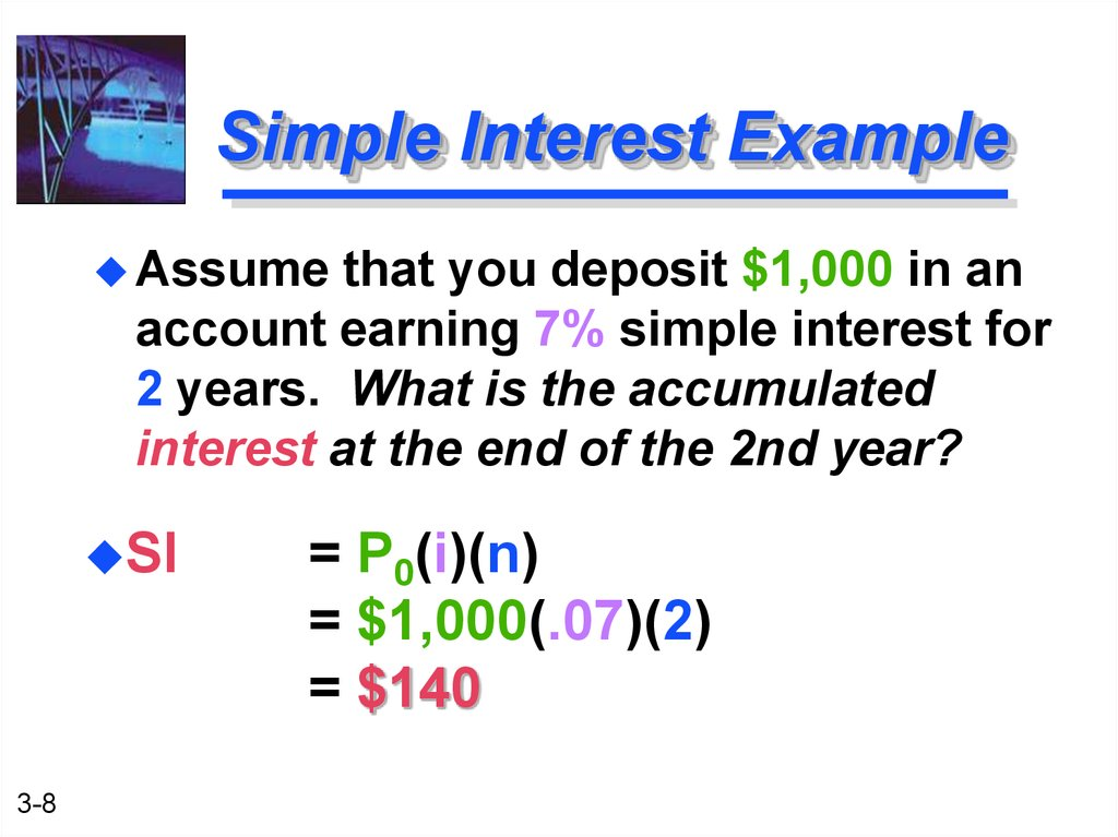Simple Interest Example