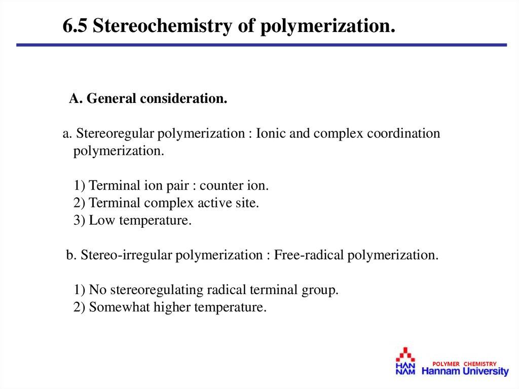 Free Radical Polymerization - презентация онлайн