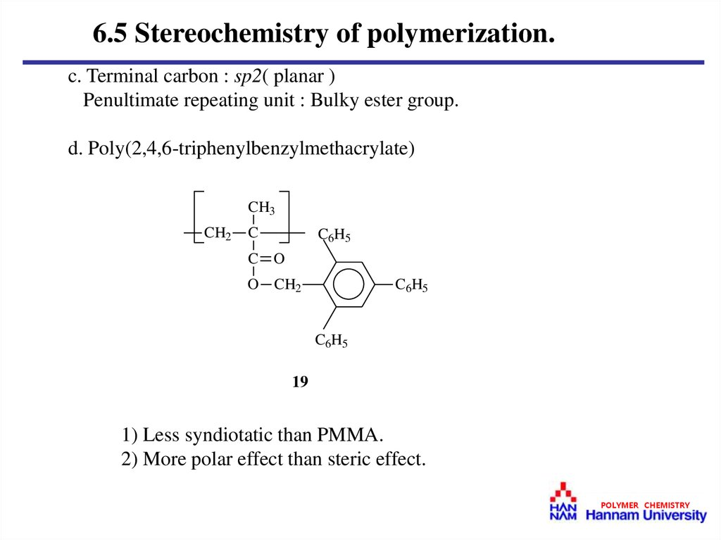 Steric effects in Free Radical Chemistry
