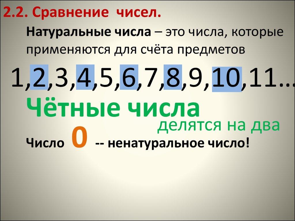 5 это натуральное число