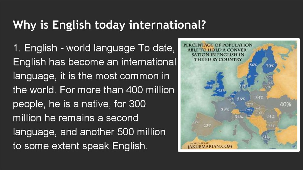 essay on english the world language Importance of english language english is a languagelt is an intemational language lt is spoken all over the worldthe people of the world communicata with each.