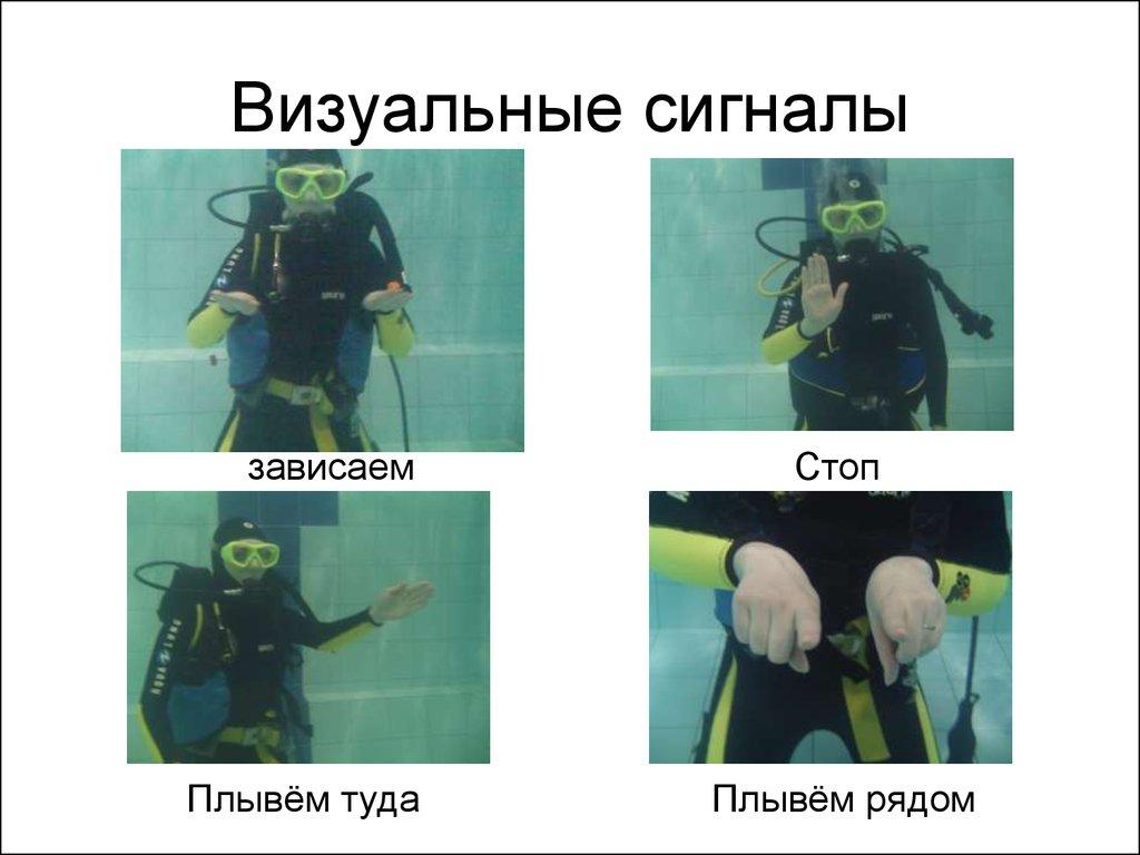 Жесты аквалангистов картинки