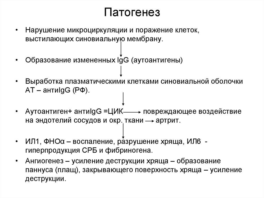 Патогенез и лечение ревматического артрита фото