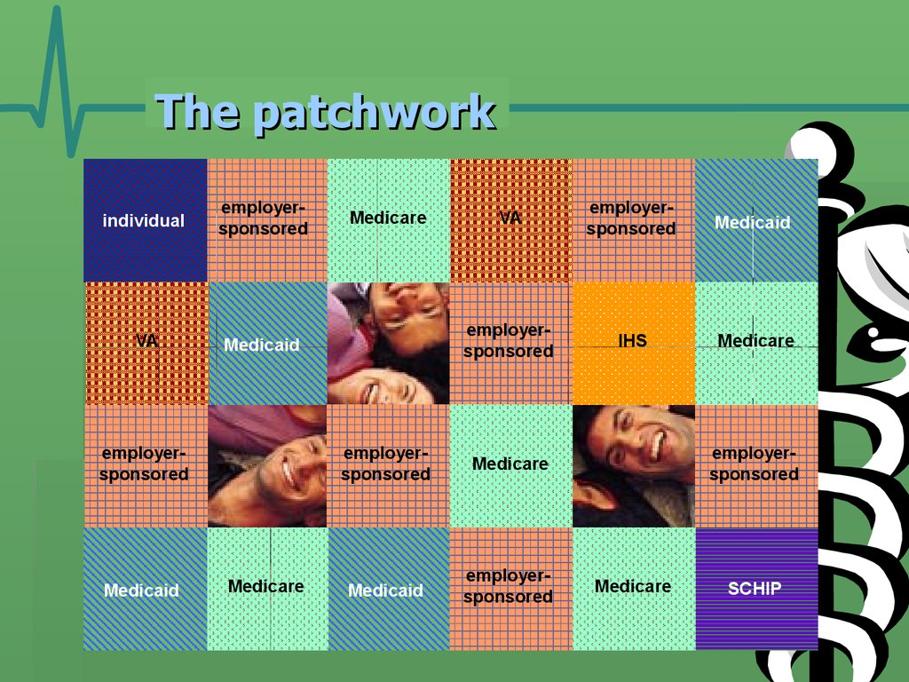 The patchwork