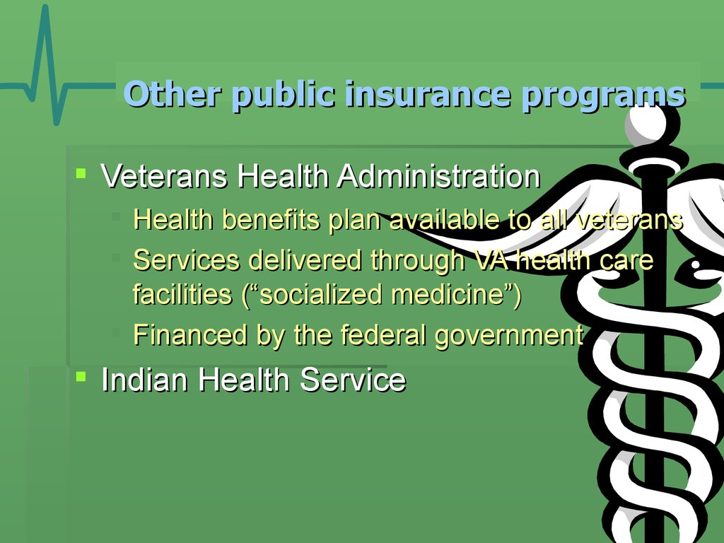 Other public insurance programs