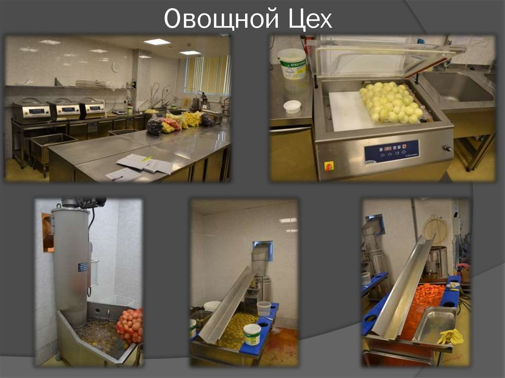 знакомство с оборудованием предприятий питания