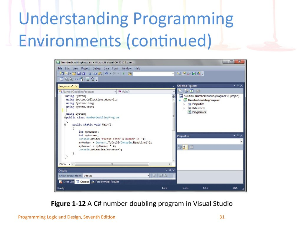 Understanding Programming Environments (continued)
