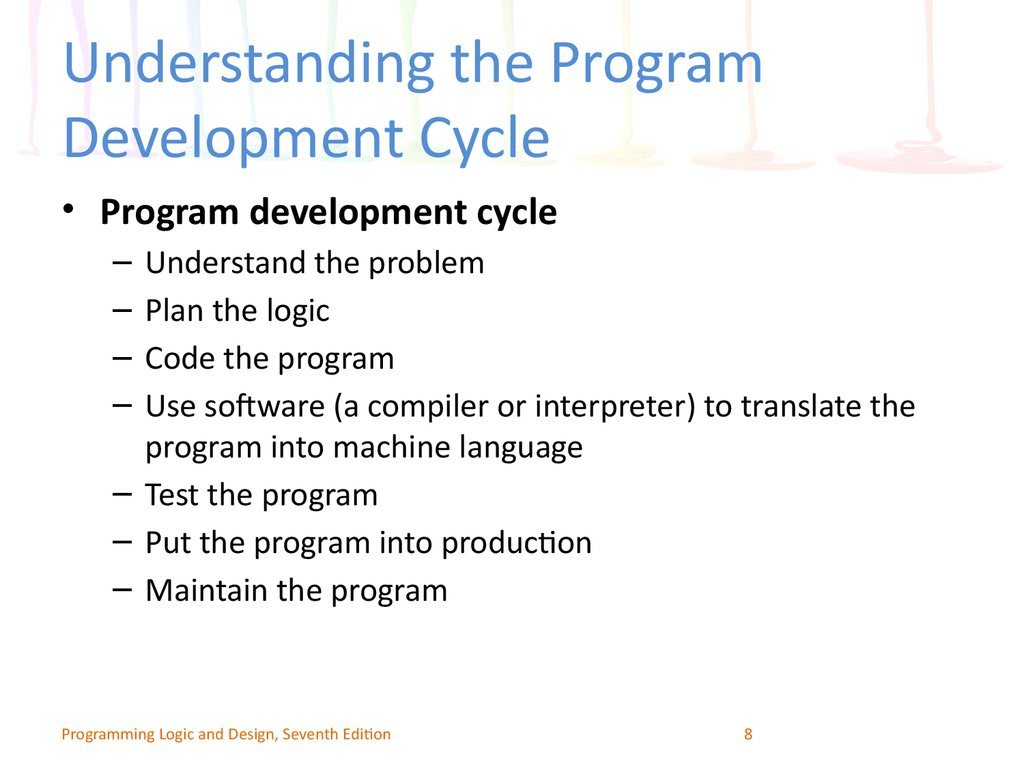 Understanding the Program Development Cycle