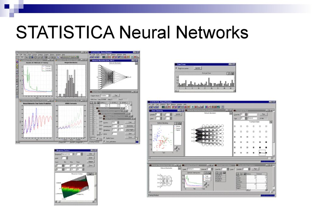 STATISTICA Neural Networks