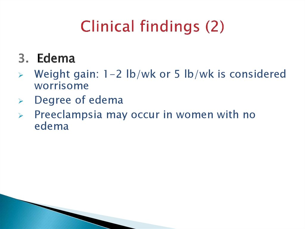 Clinical findings (2)