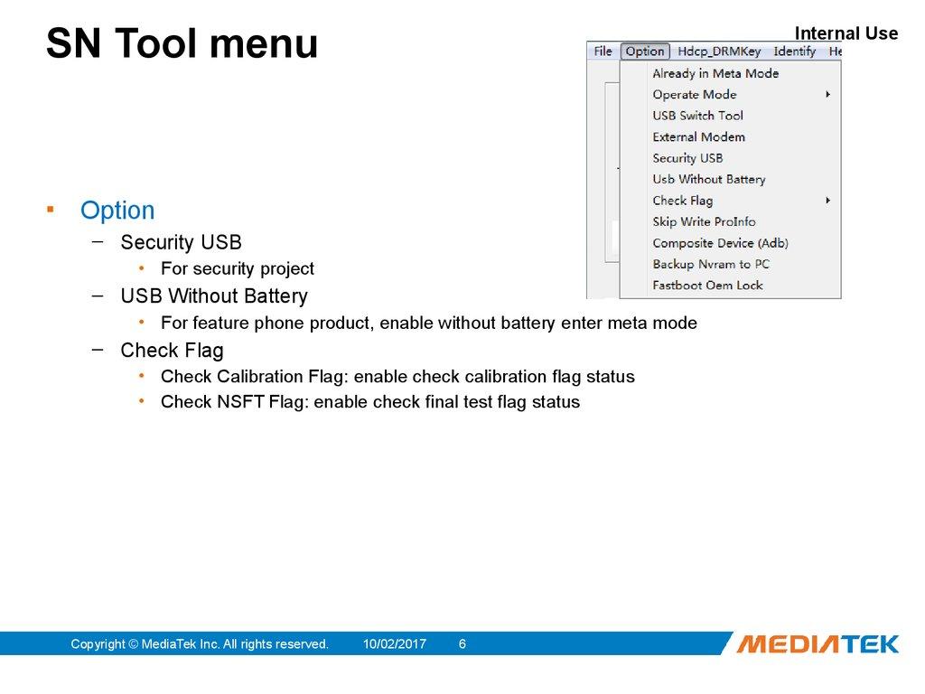 SN Tool Introduce - online presentation
