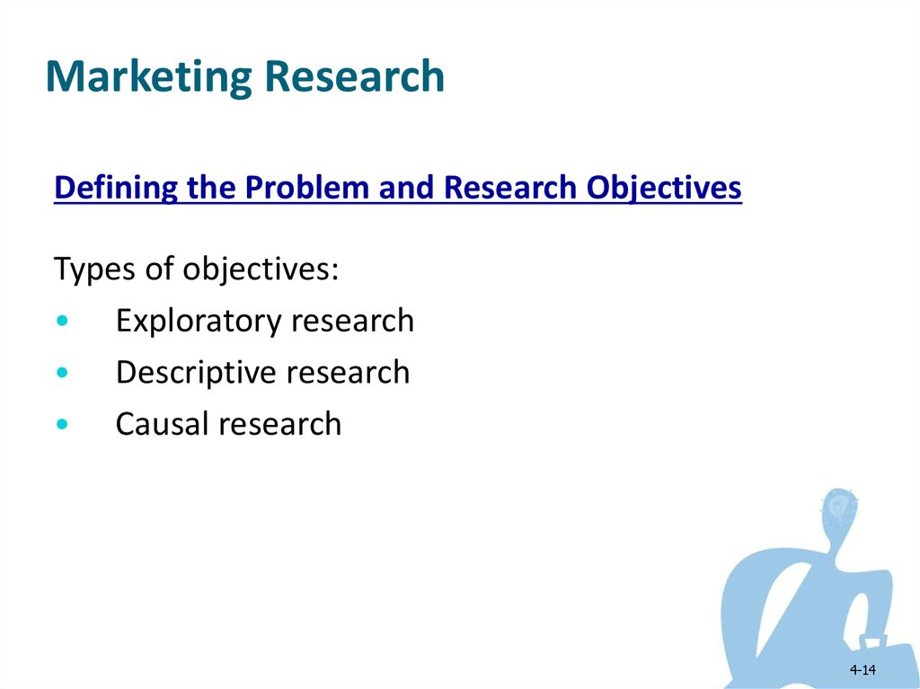 descriptive marketing research The major difference between exploratory and descriptive research is that exploratory research is one which aims at providing insights into and comprehension of the problem faced by the researcher descriptive research on the other hand, aims at describing something, mainly functions and characteristics.