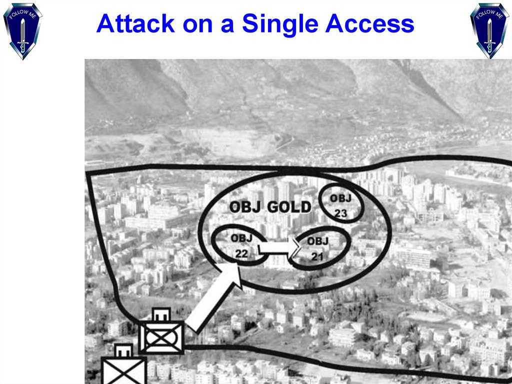 Attack on a Single Access