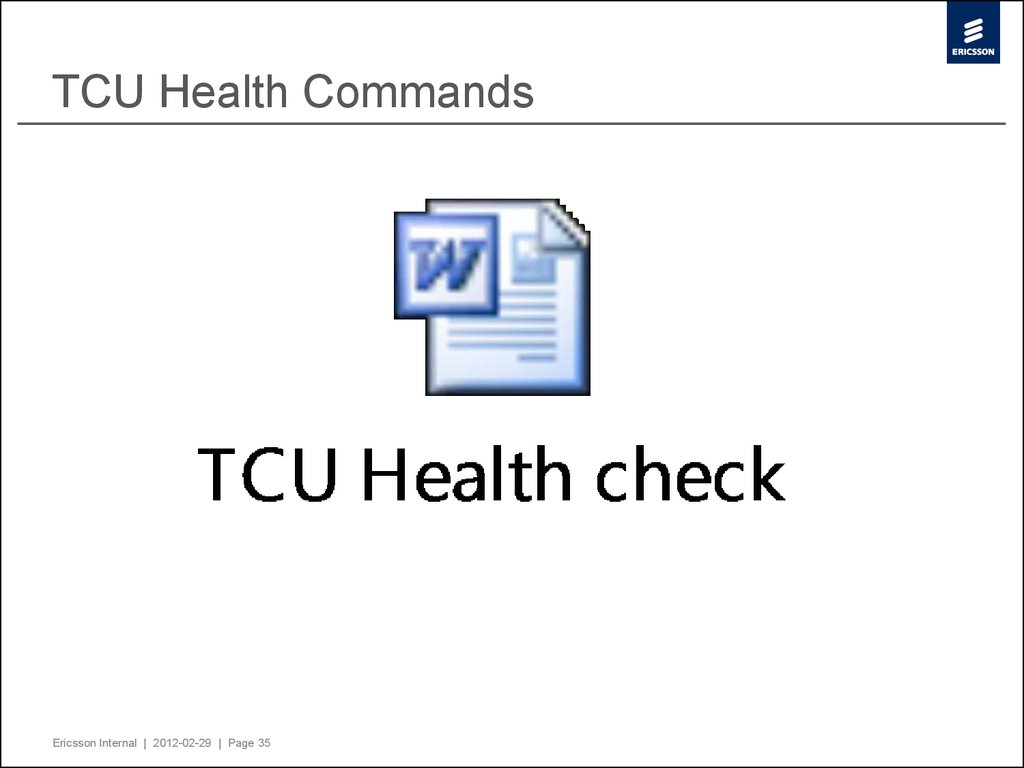 TCU Health Commands