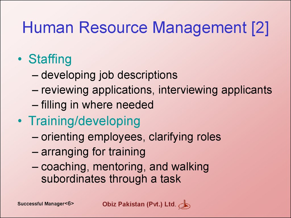 Human Resource Management [2]