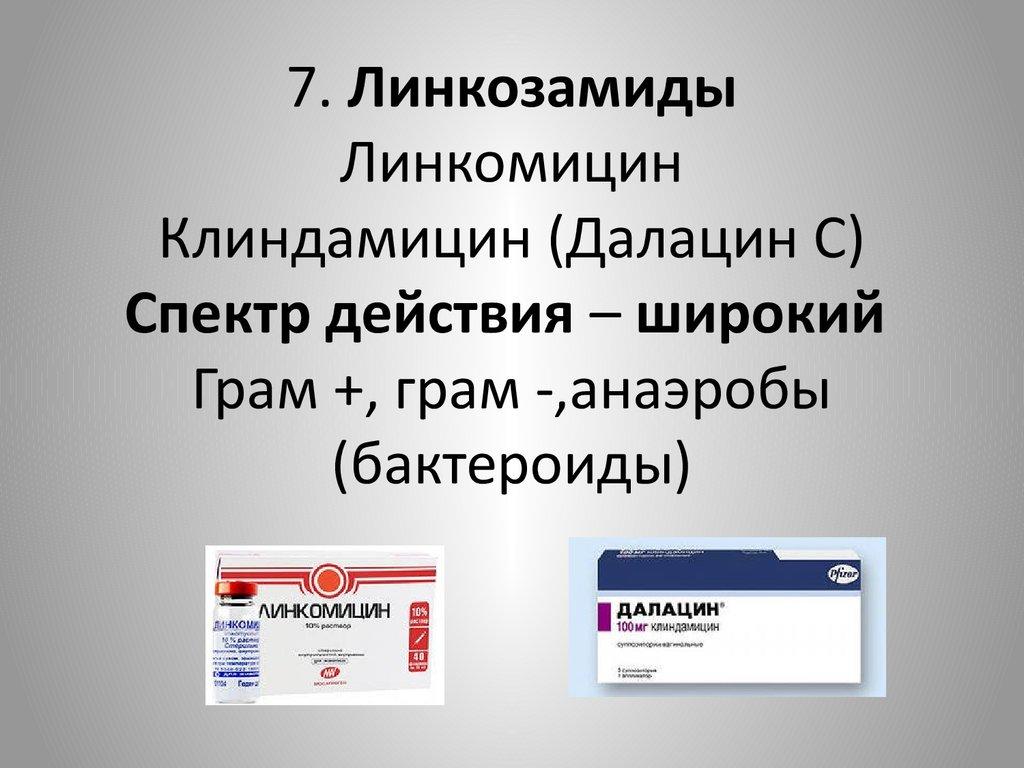 Далацин при хламидиозе