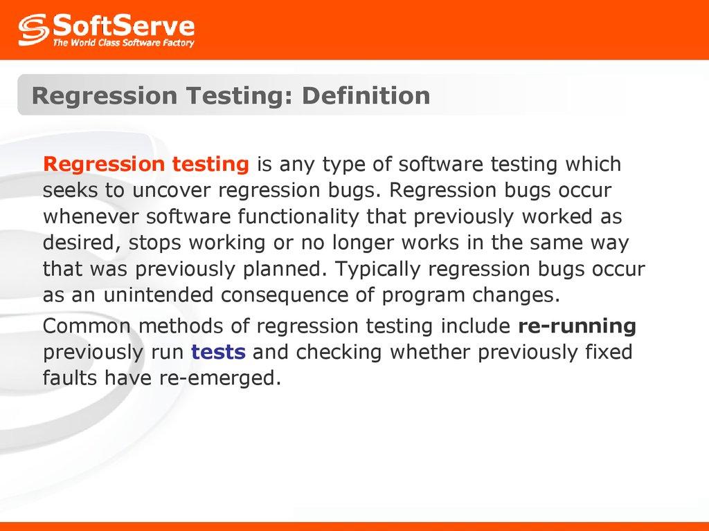 testing. testing types - презентация онлайн