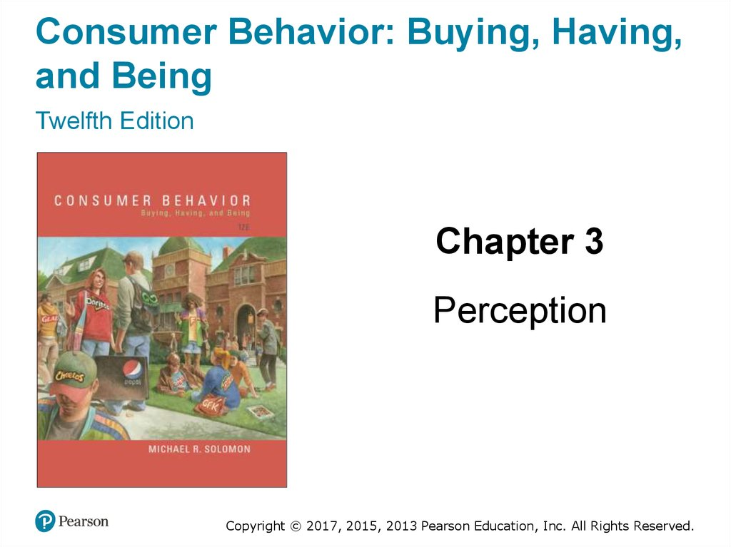 lecture 2 consumer behavior by solomon Consumer behavior (7th edition) by michael r solomon and a great selection of similar used, new and collectible books available now at abebookscom.