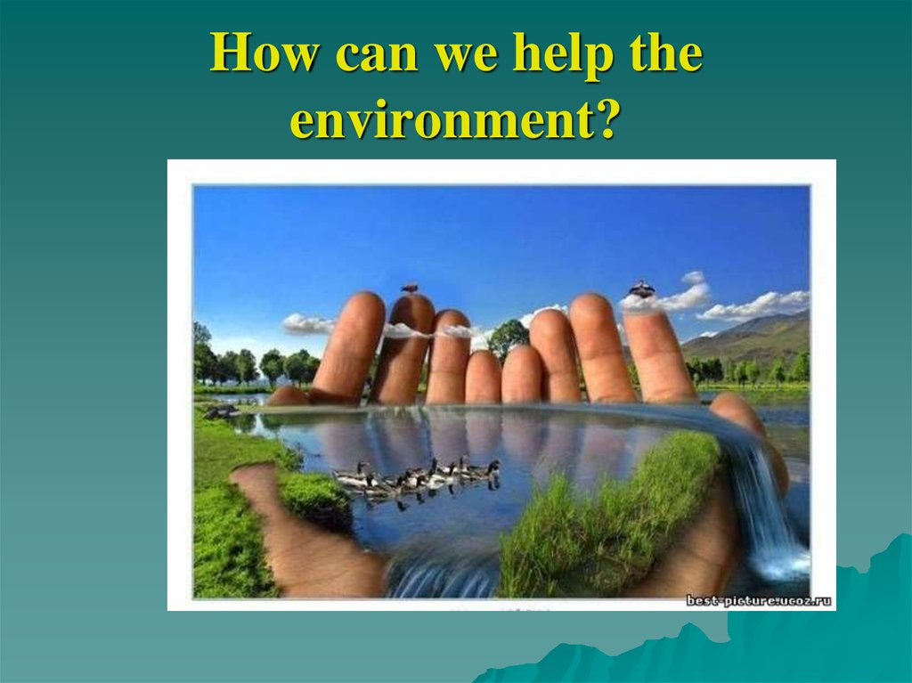 how can it help the environment