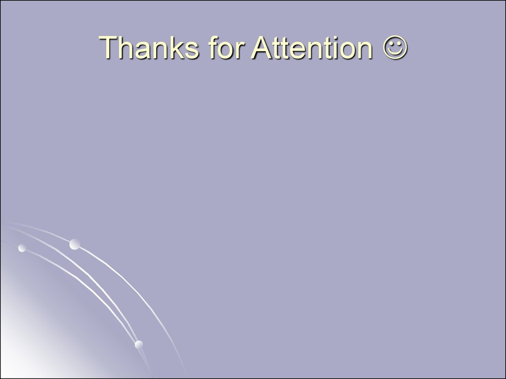 Thanks for Attention 
