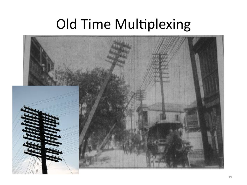 Old Time Multiplexing