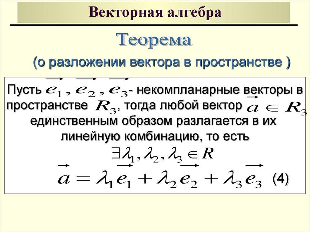 только векторная алгебра картинка презентовать пятьдесят четыре