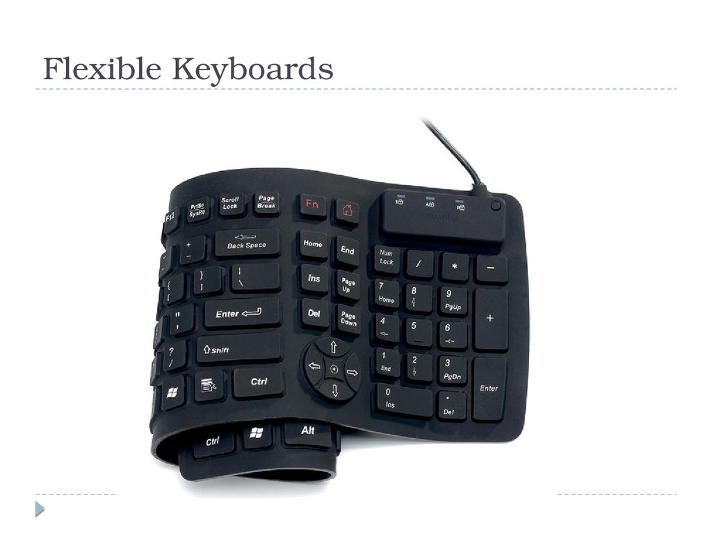 Flexible Keyboards