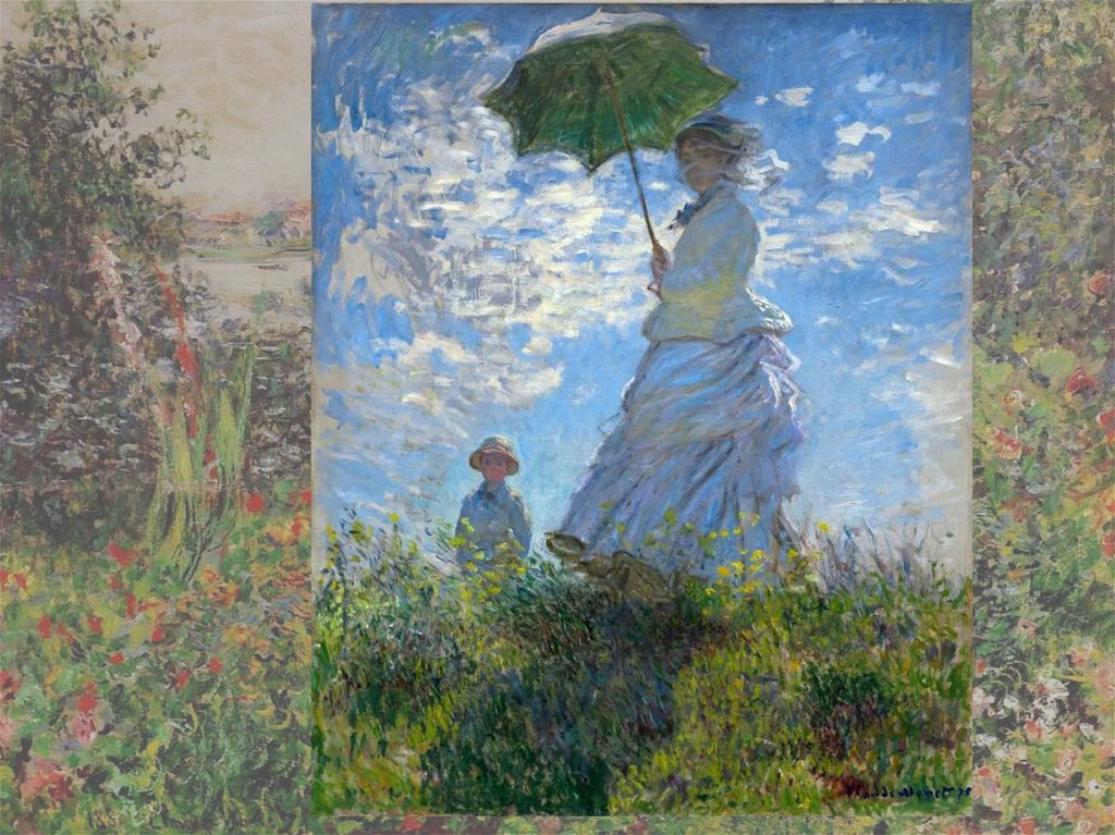 the early childhood of claude oscar monet