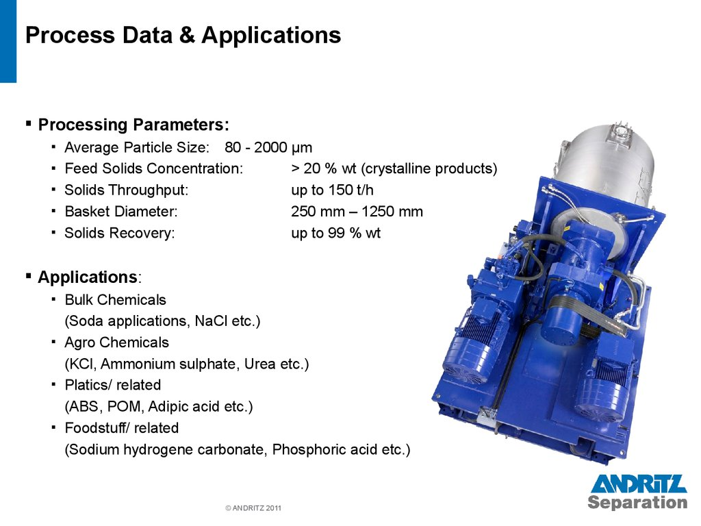 Process Data & Applications
