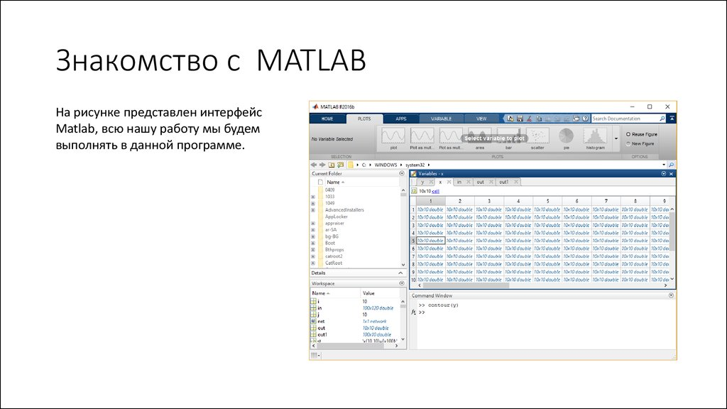 Знакомство С Matlab