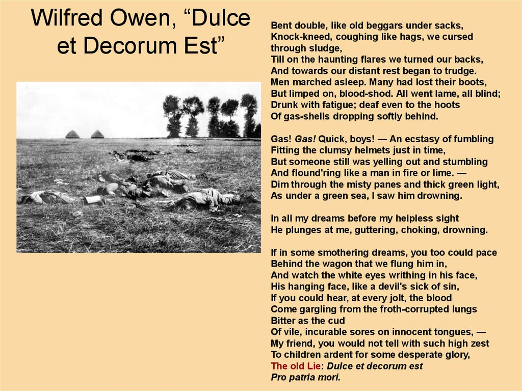 how does wilfred owen create sympathy Wilfred edward salter owen, mc (18 march 1893 - 4 november 1918) was an english poet and soldier he was one of the leading poets of the first world war.