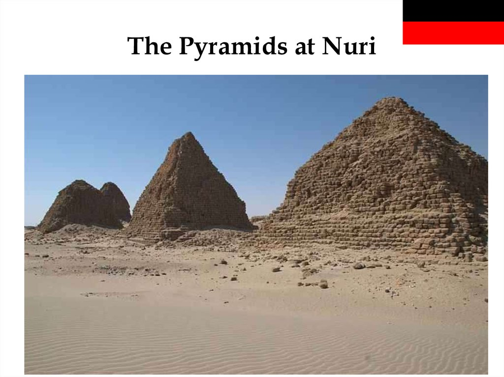 The Pyramids at Nuri