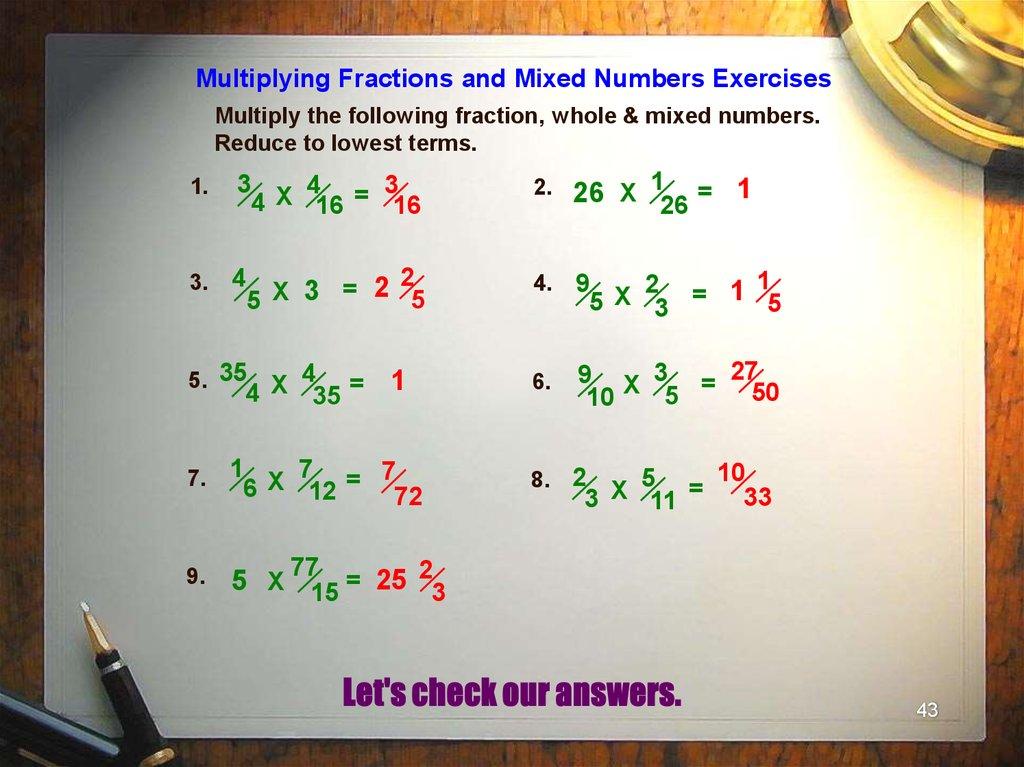 Basic Arithmetic презентация онлайн