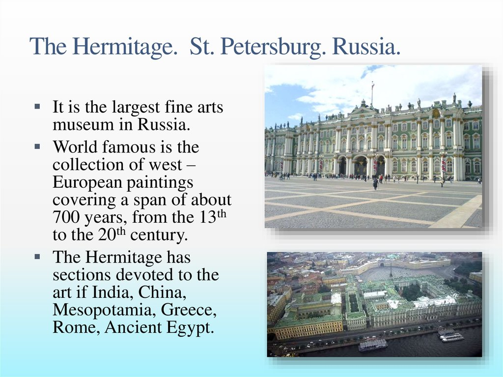 The Hermitage. St. Petersburg. Russia.