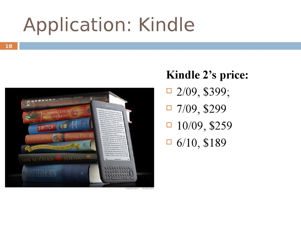 Application: Kindle