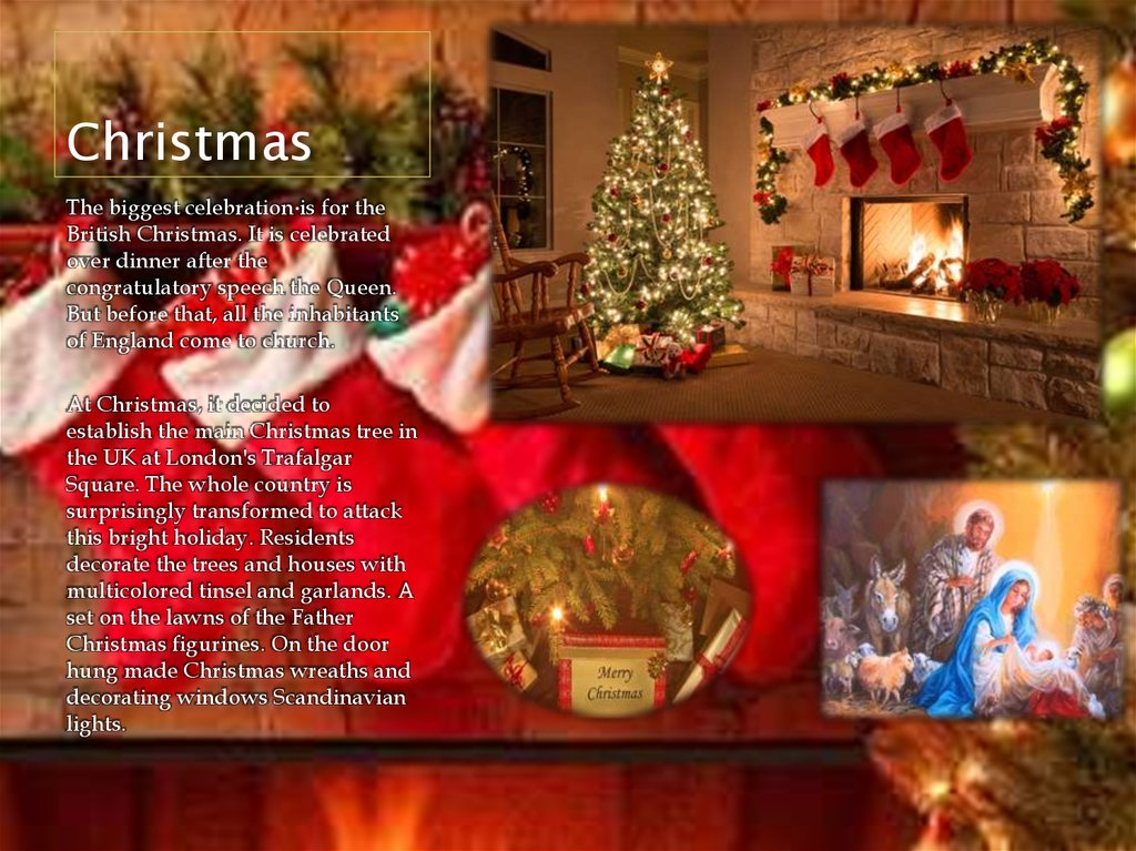 Christmas In England Traditions.Traditions And Holidays Of Great Britain Online Presentation