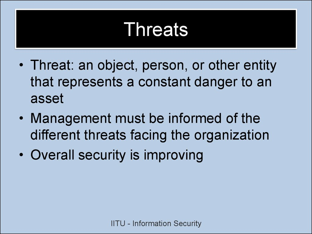 Information Security Review Online Presentation