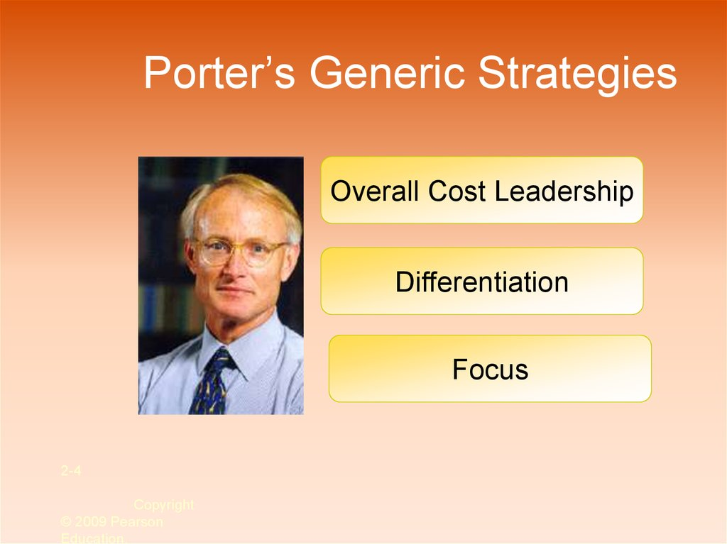 porter generic strategy fast food Porter's generic competitive strategies in each generic strategy it ventured into food retailing by.
