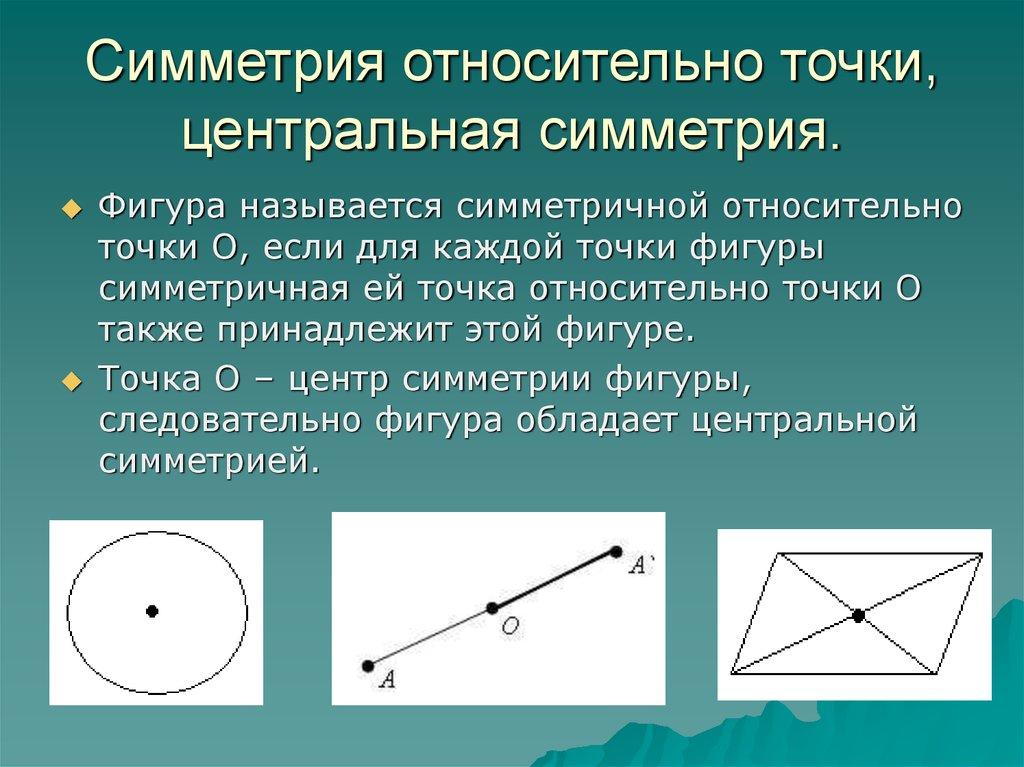 Центр определение картинки