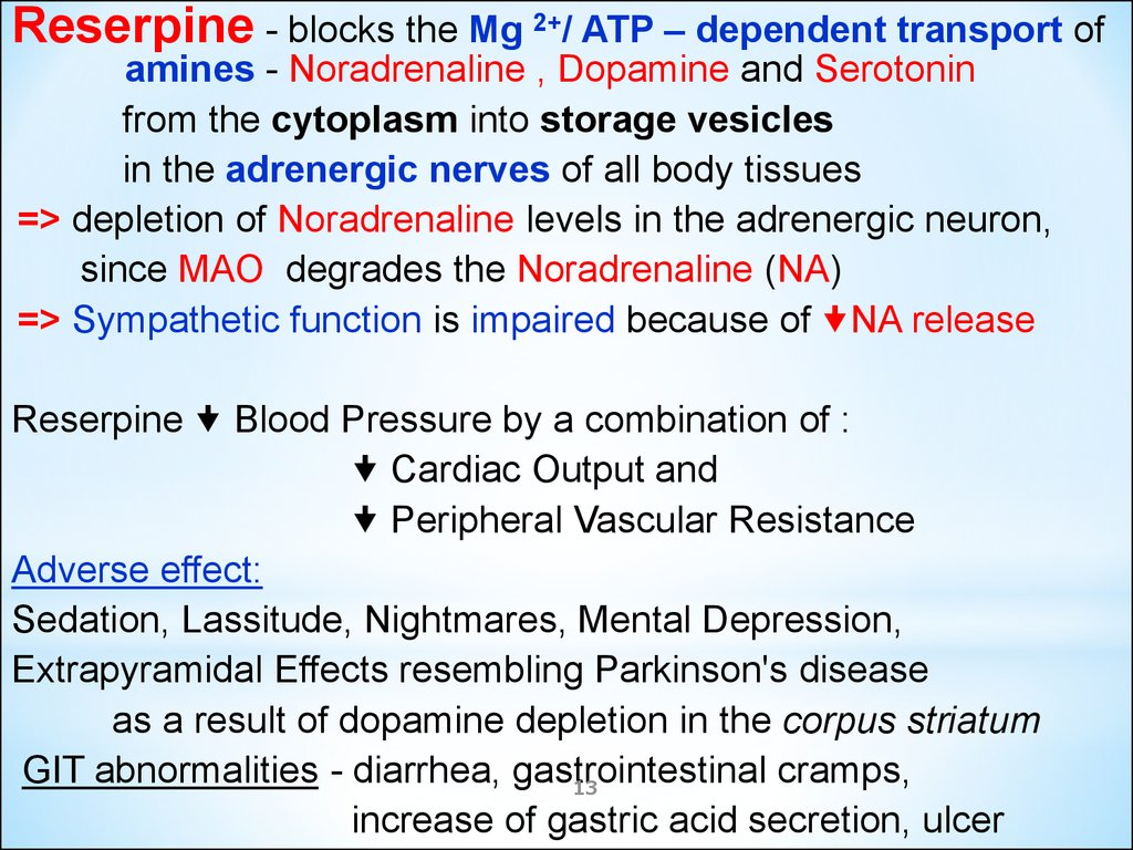 Antihypertensive and lipid-lowering drugs - online presentation