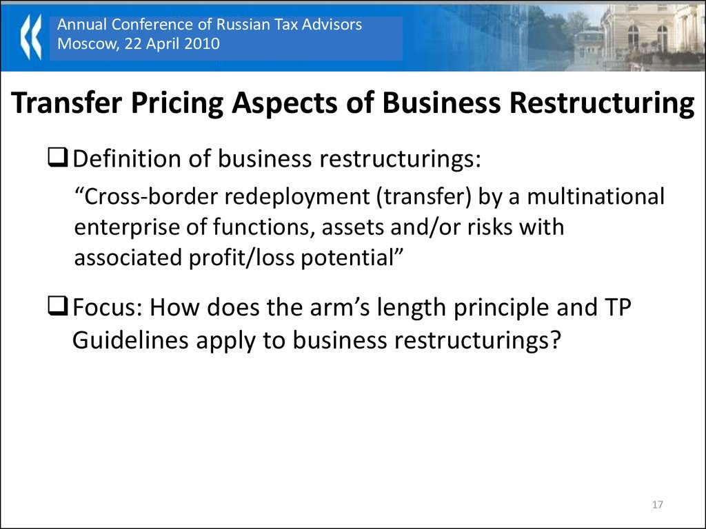transfer pricing recent trends and developments at oecd - online