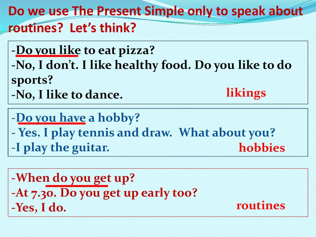 Present Simple Reading Comprehension for ESL Learners