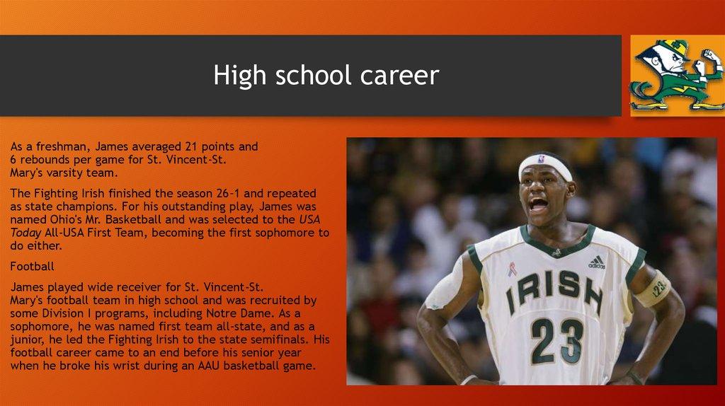 LeBron James - презентация онлайн