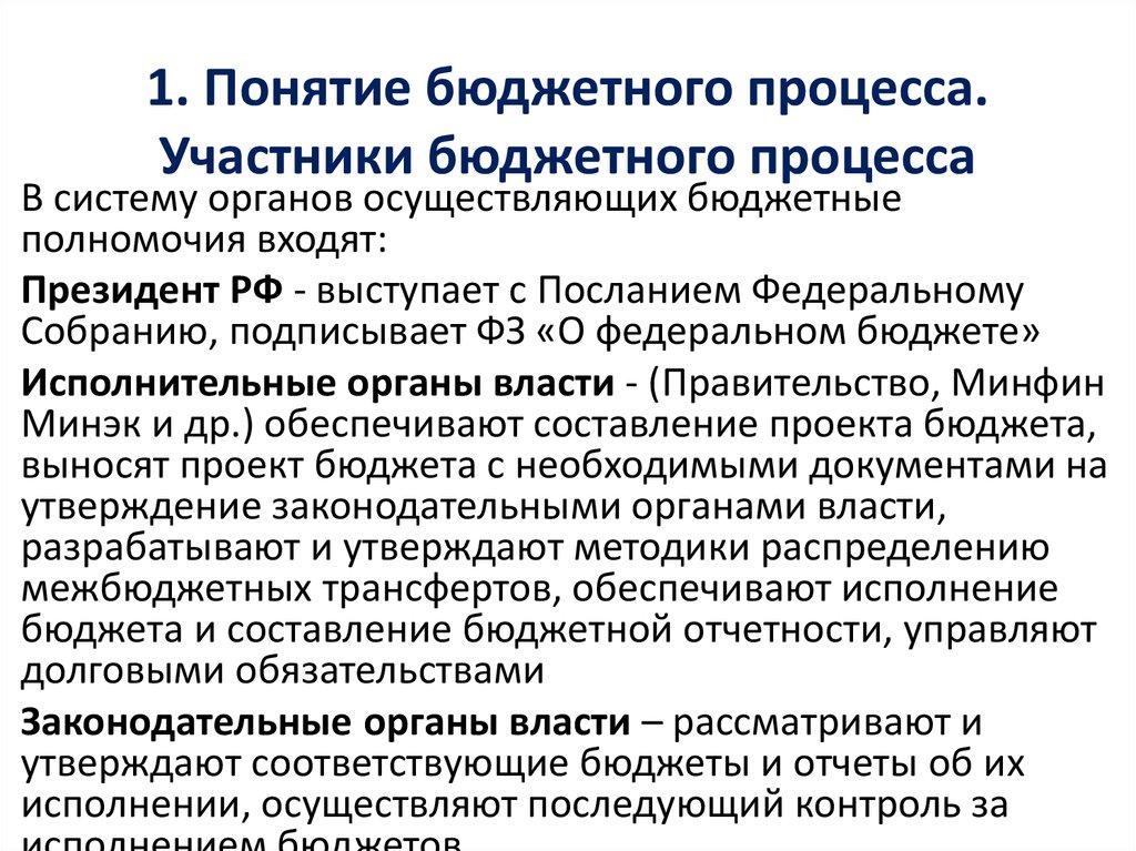 Полномочия Участников Бюджетного Процесса Шпаргалка