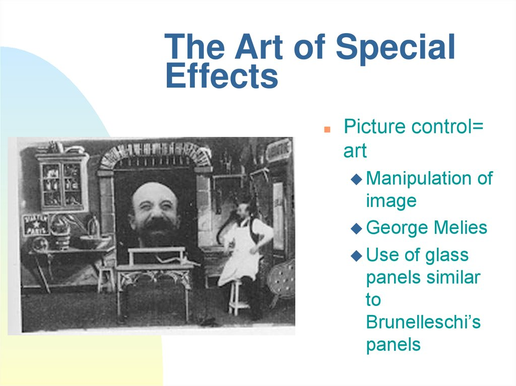 The Art of Special Effects
